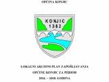Nacrt- lokalni akcioni plan zapošljavanja općine Konjic za period 2016-2018